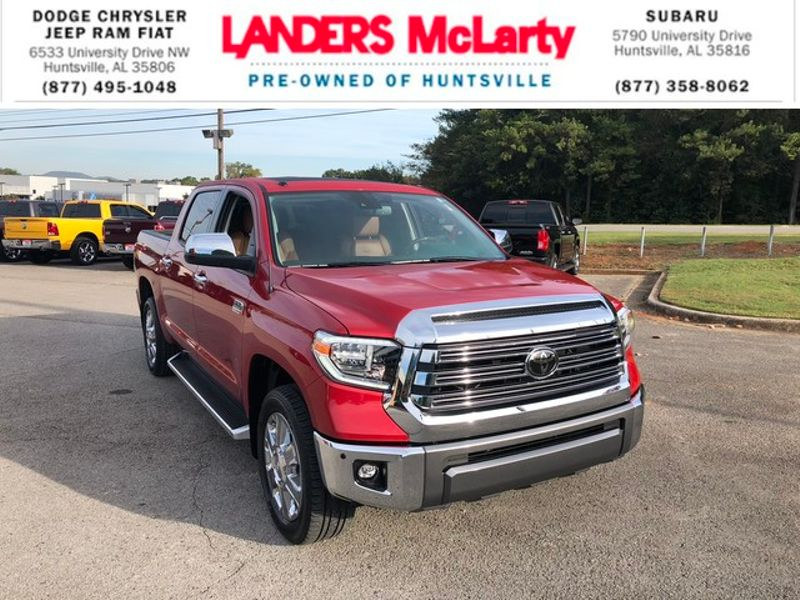 2018 Toyota Tundra 1794 Edition | Huntsville, Alabama | Landers Mclarty DCJ & Subaru in Huntsville Alabama