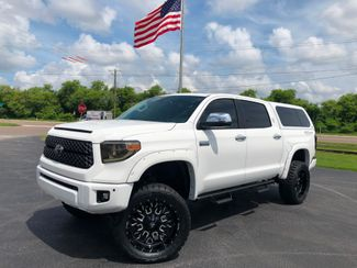2018 Toyota Tundra PLATINUM LIFTED FLARES LEER TOPPER FUEL 22S TOYO   Florida  Bayshore Automotive   in , Florida