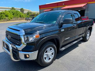 2018 Toyota Tundra BLACK DOUBLE CAB V8 1 OWNER CARFAX CERT  Plant City Florida  Bayshore Automotive   in Plant City, Florida