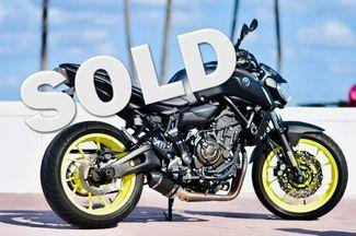 2018 Yamaha MT-07 in Dania Beach , Florida 33004