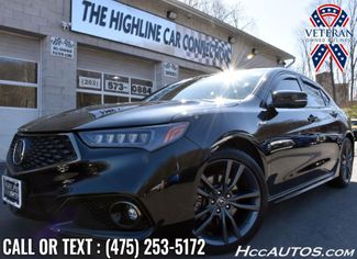 2019 Acura TLX w/A-Spec Pkg Red Leather Waterbury, Connecticut
