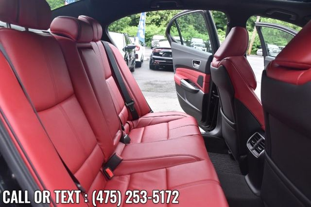 2019 Acura TLX 3.5L w/A-Spec Pkg Red Leather Waterbury, Connecticut 16