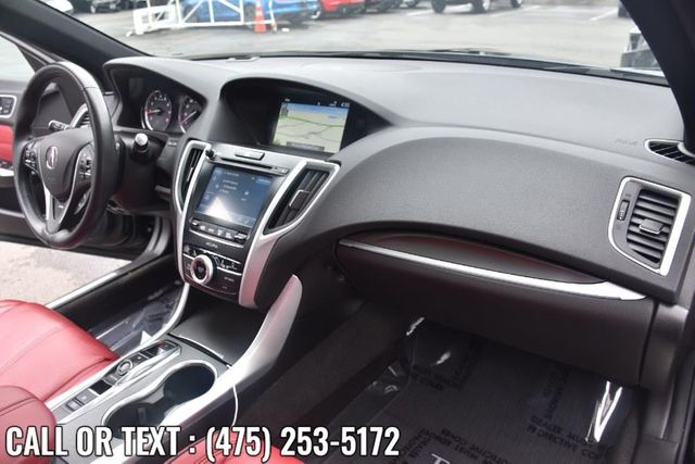 2019 Acura TLX 3.5L w/A-Spec Pkg Red Leather Waterbury, Connecticut 19