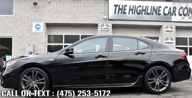 2019 Acura TLX 3.5L w/A-Spec Pkg Red Leather Waterbury, Connecticut 2