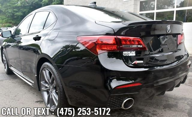 2019 Acura TLX 3.5L w/A-Spec Pkg Red Leather Waterbury, Connecticut 3