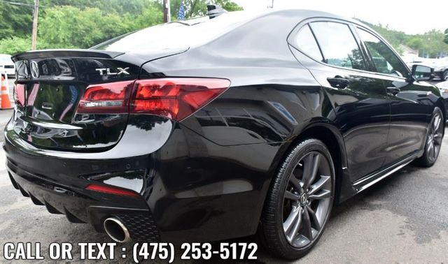 2019 Acura TLX 3.5L w/A-Spec Pkg Red Leather Waterbury, Connecticut 5