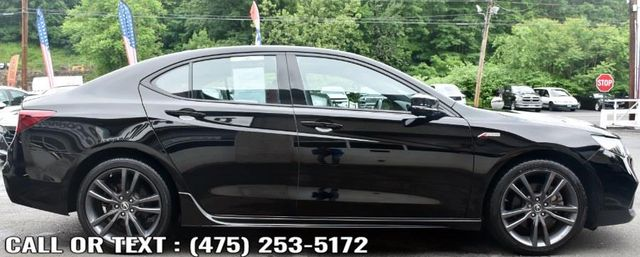 2019 Acura TLX 3.5L w/A-Spec Pkg Red Leather Waterbury, Connecticut 6