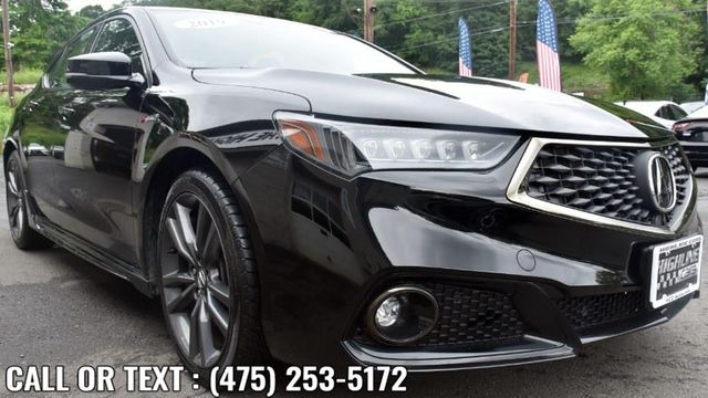 2019 Acura TLX 3.5L w/A-Spec Pkg Red Leather Waterbury, Connecticut 7