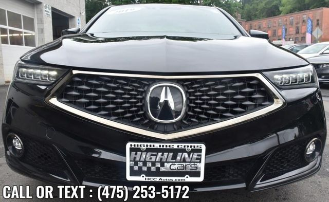 2019 Acura TLX 3.5L w/A-Spec Pkg Red Leather Waterbury, Connecticut 8