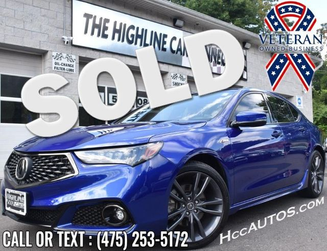 2019 Acura TLX 3.5L SH-AWD w/A-SPEC Pkg Red Leather Waterbury, Connecticut