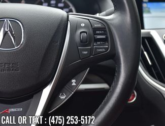 2019 Acura TLX w/A-Spec Pkg Red Leather Waterbury, Connecticut 25