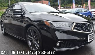 2019 Acura TLX w/A-Spec Pkg Red Leather Waterbury, Connecticut 2