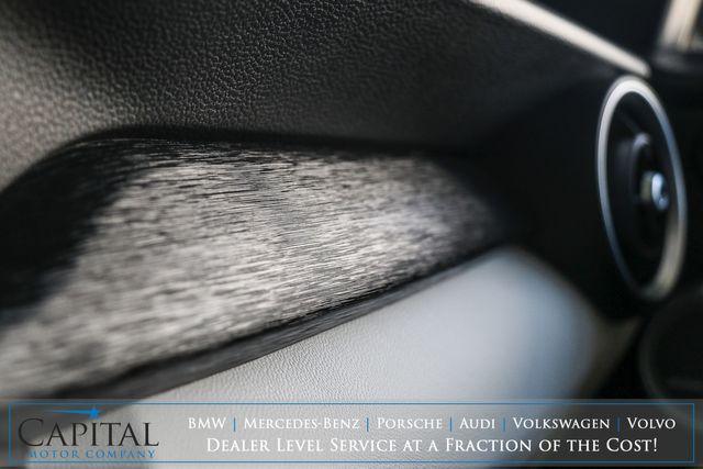 2019 Alfa Romeo Stelvio Q4 AWD Crossover w/Nav, Backup Cam, Panoramic Roof, Heated Seats & Premium Audio in Eau Claire, Wisconsin 54703