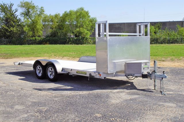 2019 Aluma 8.5' X 18' Car Hauler w/ Power Tilt $7,895