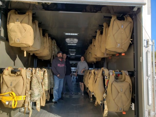2019 Atc USAF 38' Mobile Command Parachute