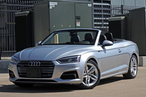2019 Audi A5 Cabriolet Premium Plus* Bang & Olufsen* Lux Pkg* NAV***    Plano, TX   Carrick's Autos in Plano, TX