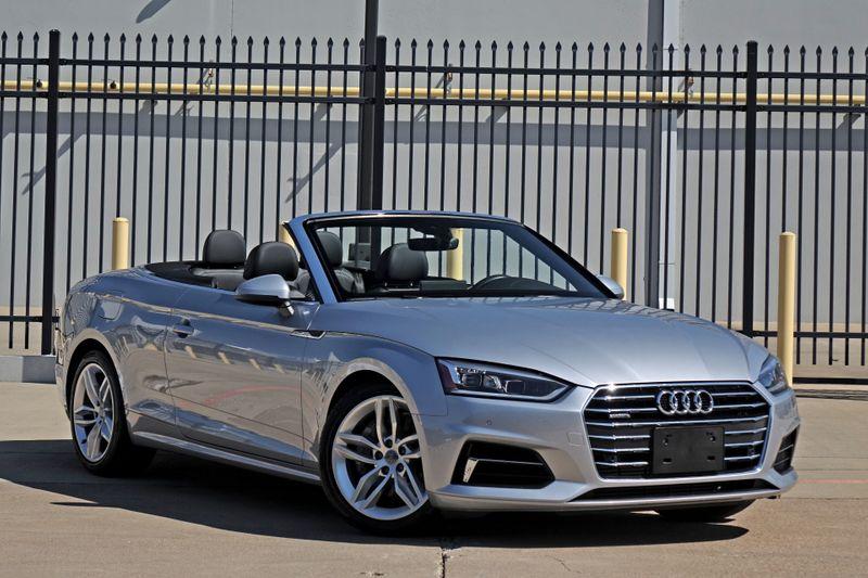 2019 Audi A5 Cabriolet Premium Plus* Bang & Olufsen* Lux Pkg* NAV***    Plano, TX   Carrick's Autos in Plano TX
