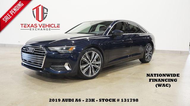 2019 Audi A6 Premium SUNROOF,NAV,BACK-UP CAM,HTD LTH,20'S,23K