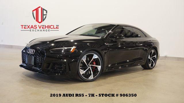 2019 Audi RS 5 Coupe MSRP 88K HUD,ROOF,NAV,360 CAM,HTD LTH,20'S,7K