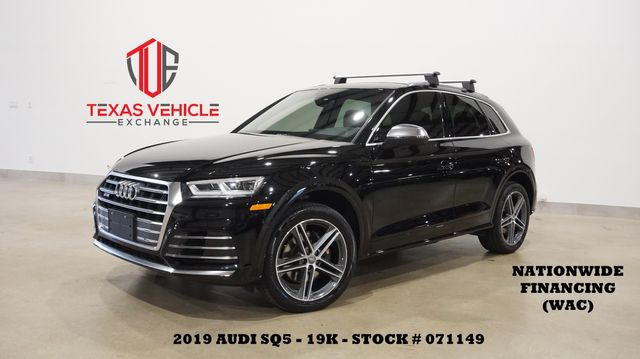 2019 Audi SQ5 Premium BACK-UP CAM,HTD LTH,20'S,19K,WE FINANCE