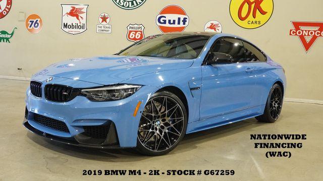 2019 BMW M4 Coupe MSRP 85K,HUD,NAV,F&TOP CAM,HTD LTH,20'S,2K in Carrollton, TX 75006