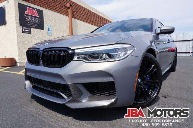 2019 BMW M5 Sedan ~ HUGE $127k MSRP Carbon Fiber Stratus Grey