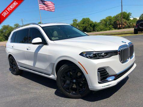 2019 BMW X7 xDrive40i WHITE/IVORY MARINO LEATHER  in , Florida