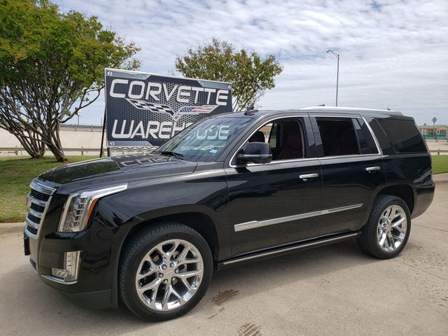 2019 Cadillac Escalade Premium Luxury 4x4, NAV, Sunroof, Chromes 34k