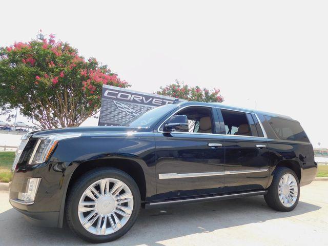 2019 Cadillac Escalade ESV Platinum, 4x4, Auto, Sunroof, NAV, Chromes 5k