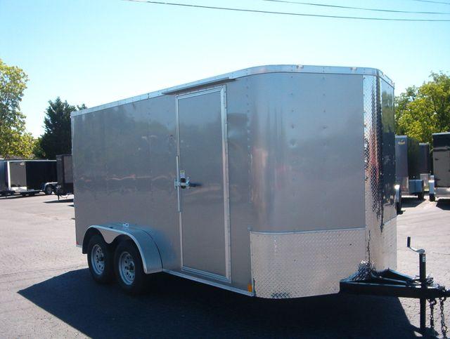 """2019 Cargo Craft Enclosed 7x14 6' 6"""" Interior Height"""