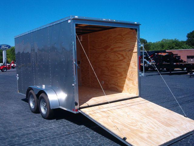 """2019 Cargo Craft Enclosed 7x14 6' 6"""" Interior Height in Madison, Georgia 30650"""