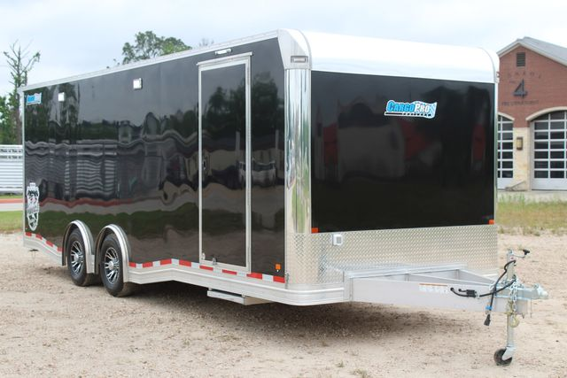 2019 Cargo Pro 24' - ENCLOSED CAR TRAILER 8.5' x 24' ENCLOSED CAR HAULER LINED W/ CABINETS CONROE, TX 36