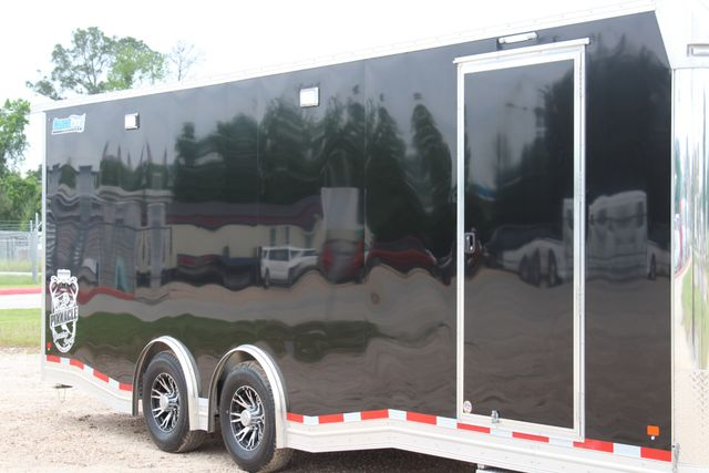 2019 Cargo Pro 24' - ENCLOSED CAR TRAILER 8.5' x 24' ENCLOSED CAR HAULER LINED W/ CABINETS CONROE, TX 1