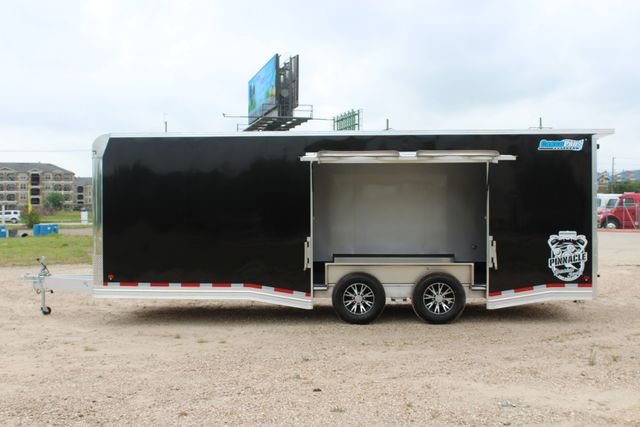 2019 Cargo Pro 24' - ENCLOSED CAR TRAILER 8.5' x 24' ENCLOSED CAR HAULER LINED W/ CABINETS CONROE, TX 8