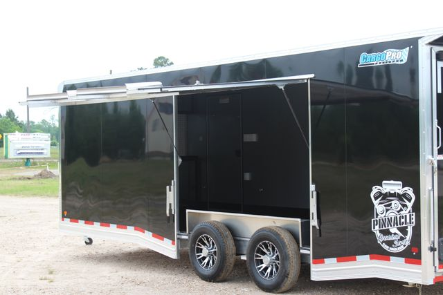 2019 Cargo Pro 24' - ENCLOSED CAR TRAILER 8.5' x 24' ENCLOSED CAR HAULER LINED W/ CABINETS CONROE, TX 12