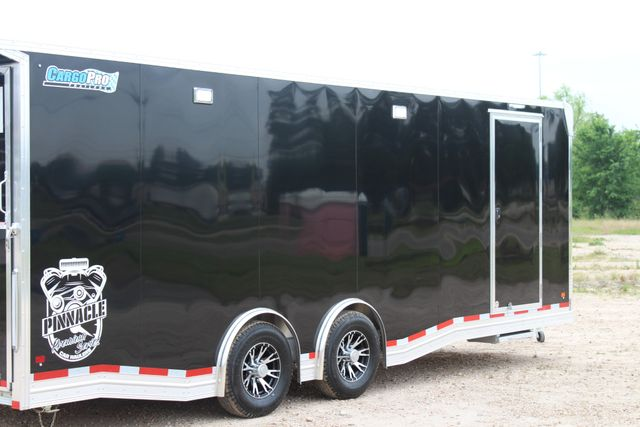 2019 Cargo Pro 24' - ENCLOSED CAR TRAILER 8.5' x 24' ENCLOSED CAR HAULER LINED W/ CABINETS CONROE, TX 30