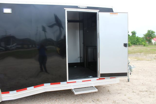 2019 Cargo Pro 24' - ENCLOSED CAR TRAILER 8.5' x 24' ENCLOSED CAR HAULER LINED W/ CABINETS CONROE, TX 33