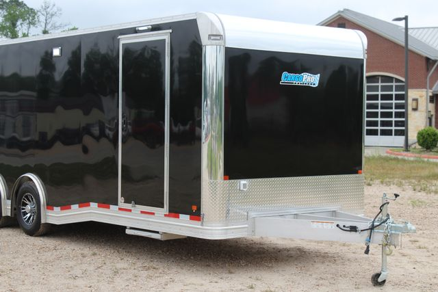 2019 Cargo Pro 24' - ENCLOSED CAR TRAILER 8.5' x 24' ENCLOSED CAR HAULER LINED W/ CABINETS CONROE, TX 2