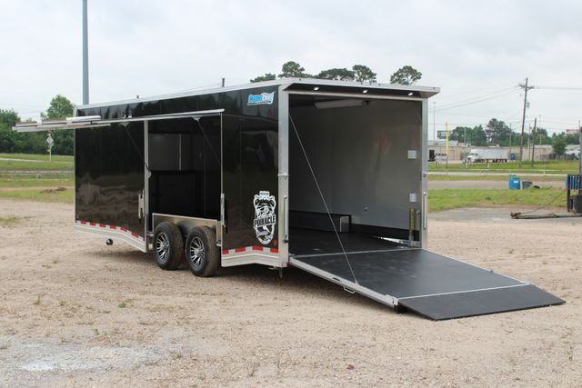 2019 Cargo Pro 24' - ENCLOSED CAR TRAILER 8.5' x 24' ENCLOSED CAR HAULER LINED W/ CABINETS CONROE, TX 10