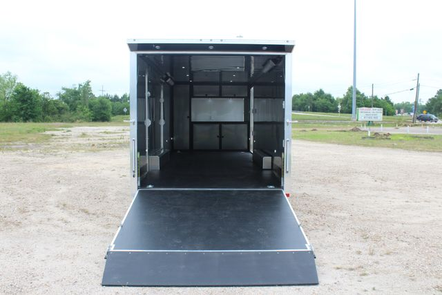 2019 Cargo Pro 24' - ENCLOSED CAR TRAILER 8.5' x 24' ENCLOSED CAR HAULER LINED W/ CABINETS CONROE, TX 17
