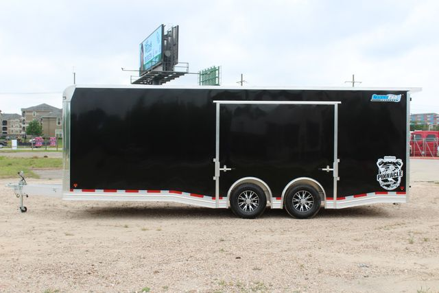 2019 Cargo Pro 24' - ENCLOSED CAR TRAILER 8.5' x 24' ENCLOSED CAR HAULER LINED W/ CABINETS CONROE, TX 7