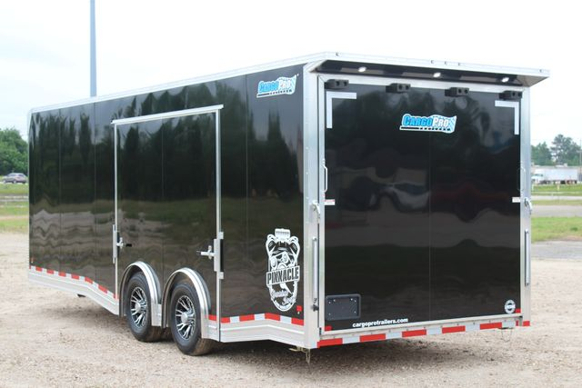 2019 Cargo Pro 24' - ENCLOSED CAR TRAILER 8.5' x 24' ENCLOSED CAR HAULER LINED W/ CABINETS CONROE, TX 9