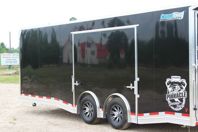 2019 Cargo Pro 24' - ENCLOSED CAR TRAILER 8.5' x 24' ENCLOSED CAR HAULER LINED W/ CABINETS CONROE, TX 11