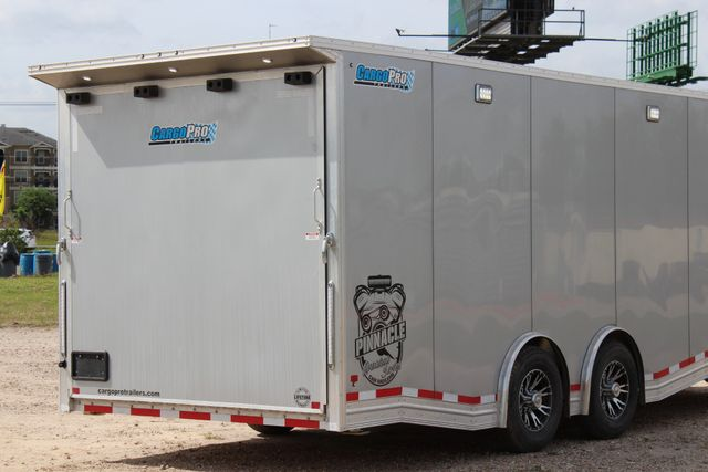 2019 Cargo Pro 24 ENCLOSED 24' - RACE TRAILER WITH CABINETS & ELECTRICAL CONROE, TX 29