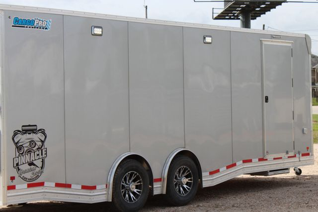 2019 Cargo Pro 24 ENCLOSED 24' - RACE TRAILER WITH CABINETS & ELECTRICAL CONROE, TX 30