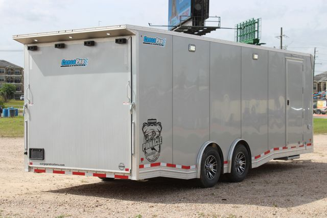 2019 Cargo Pro 24 ENCLOSED 24' - RACE TRAILER WITH CABINETS & ELECTRICAL CONROE, TX 31