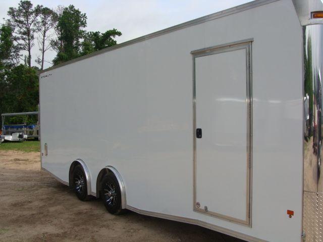2019 Cargo Pro Stealth 24' Enclosed Car Trailer CONROE, TX 1