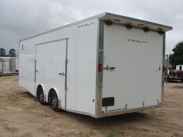 2019 Cargo Pro Stealth 24' Enclosed Car Trailer CONROE, TX 10