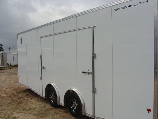 2019 Cargo Pro Stealth 24' Enclosed Car Trailer CONROE, TX 11