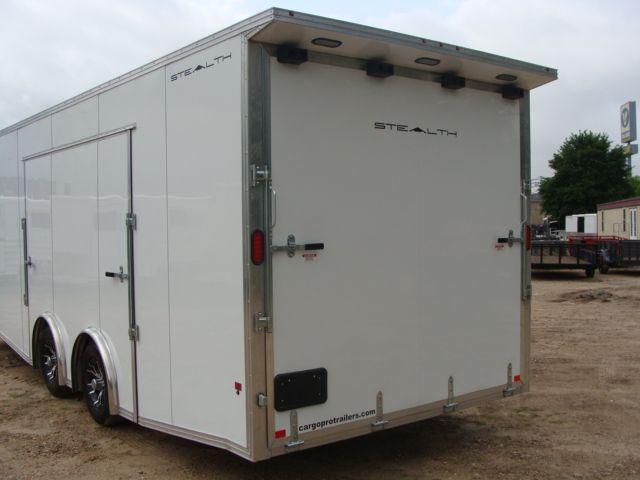 2019 Cargo Pro Stealth 24' Enclosed Car Trailer CONROE, TX 12